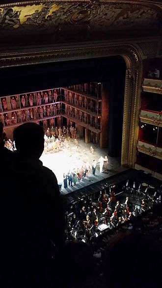 Œdipe (opera) - Oedipe (opera) at Royal Opera House in London - standing ovations (24 May 2016).