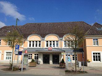 Oelde station - Image: Oelde Bahnhof 2