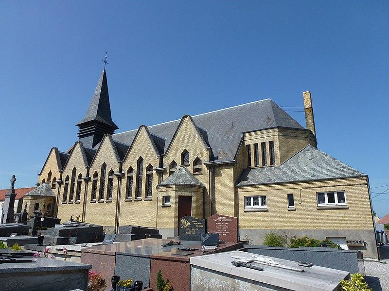 Offekerque (Pas-de-Calais) église Sainte-Thérèse-de- l'enfant-Jésus