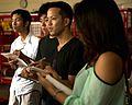 Okinawa International University students learn disaster preparation at Camp Foster Fire Station 140929-M-DM081-002.jpg