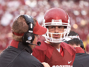 Landry Jones - Jones with the Oklahoma Sooners in 2009