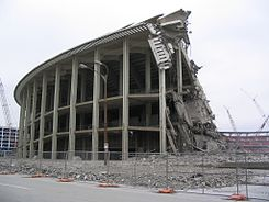 Old Busch Destroyed.