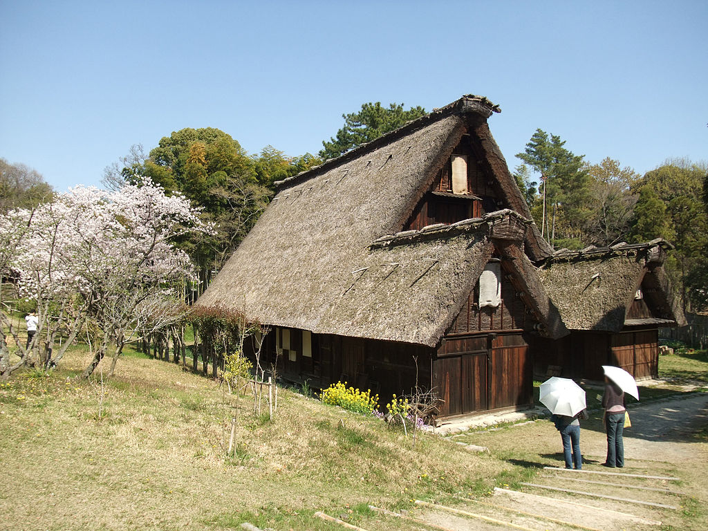 File old japanese houses museum shirakawa jpg wikimedia for Classic house wiki