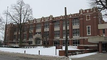 Kokomo High School and Memorial Gymnasium