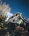 Old house blue sky Bala Cynwyd Pennsylvania picture.jpg