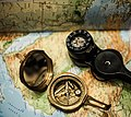 Old naval and modern diving compass.jpg