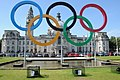 Olympic Rings and Cardiff City Hall - Geograph-3077233-by-Philip-Halling.jpg