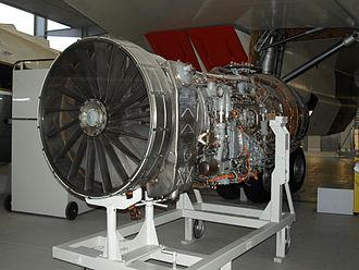 Rolls-Royce/Snecma Olympus 593 - Preserved Olympus 593 engine at the Imperial War Museum Duxford
