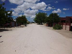 Ongwediva - Ongwediva residential neighborhood