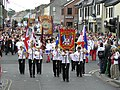 Orangemen and supporting bands parade in Omagh - 12 July 2008 - geograph - 888716.jpg