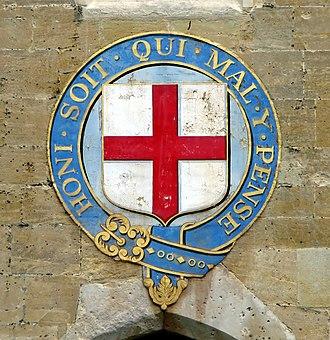 St George's Chapel, Windsor Castle - Emblem of the Order of the Garter