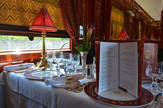 Orient Express, Restaurant car.jpg