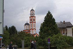 Serbian Orthodox church in Laktaši