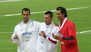 Romain Mesnil - Romain Mesnil (on the left)