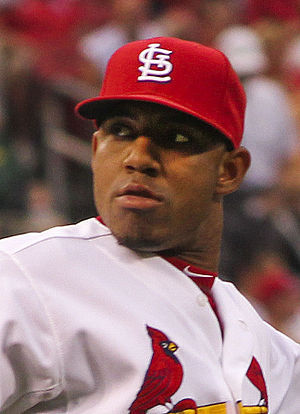 Oscar Taveras - Taveras with the St. Louis Cardinals in 2014
