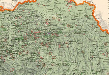 Galizien Karte.Galiziendeutsche Wikipedia