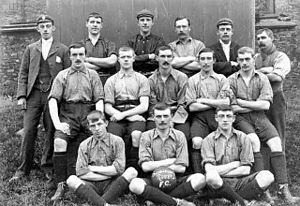 Oswaldtwistle Rovers F.C. - The team in the 1890s