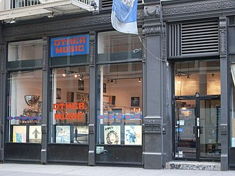 Other Music - Other Music's former location in NYC