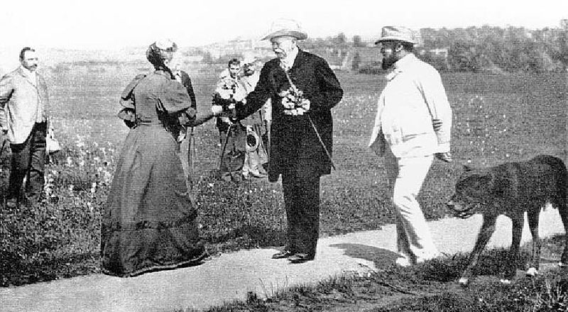 File:Otto von bismarck als Spaziergänger in Bad Kissingen.jpg