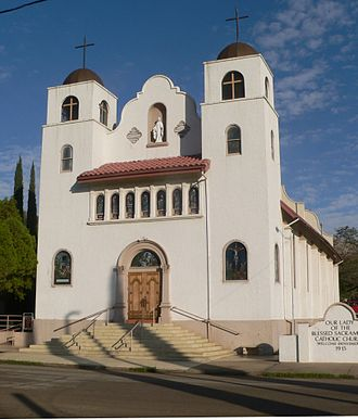 Miami, Arizona - Image: Our Lady of the Blessed Sacrament (Miami, AZ) from SE 1
