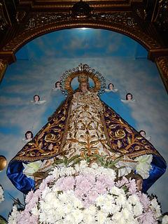 Our Lady of Most Holy Rosary Parish Church (Makinabang) Church in Bulacan, Philippines