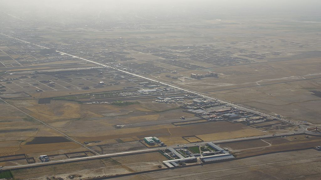 Mazar aéroport (Mazari Sharif Aéroport) .1