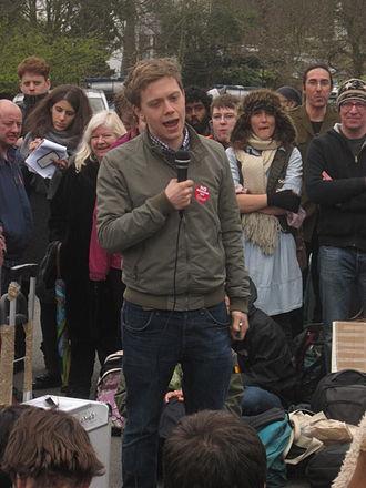 Owen Jones (writer) - Jones speaking in 2013