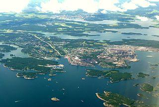 Oxelösund Place in Södermanland, Sweden