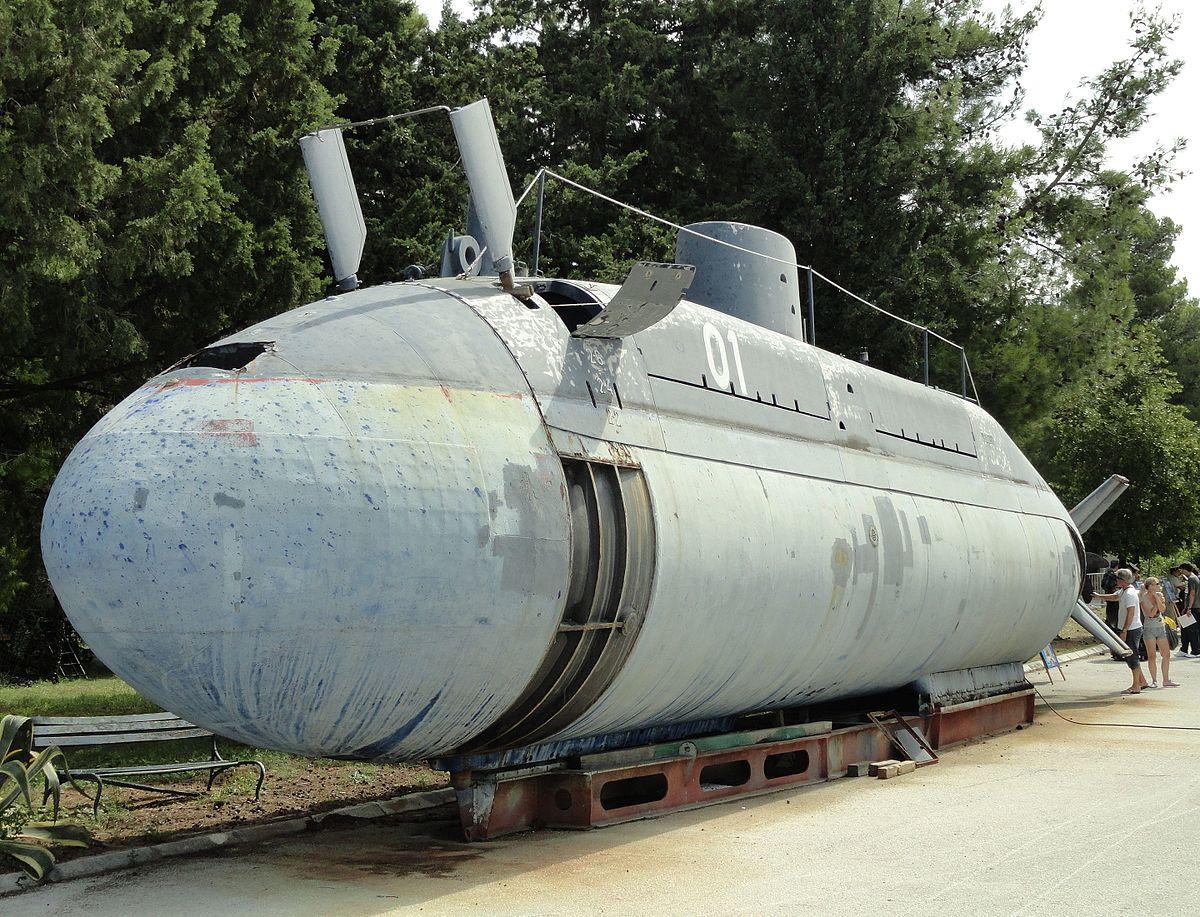 Croatian Submarine Velebit Wikipedia
