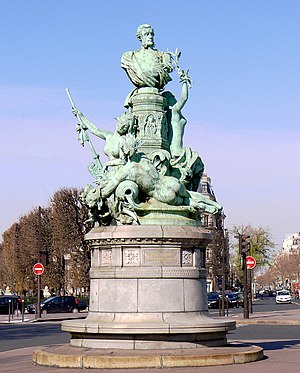 Denys Puech - Monument to Francis Garnier (1898), Paris.