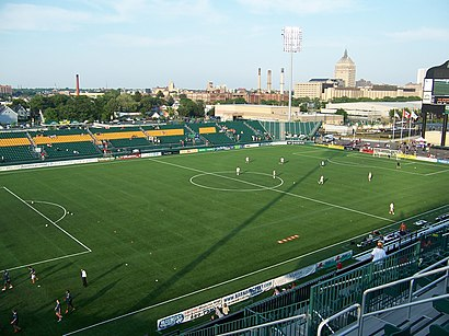 How to get to Sahlen's Stadium with public transit - About the place
