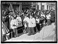 PAN AMERICAN MASS. THANKSGIVING DAY AT ST. PATRICK'S. MONS. DOUGHERTY; DR. BURNS; CARDINAL GIBBONS; MONS. KERBY LCCN2016863735.jpg
