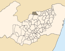 Santa Cruz do Capibaribe – Mappa