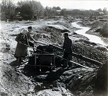 PG - Miners washing gold-bearing sand near Beryozovsky.jpg