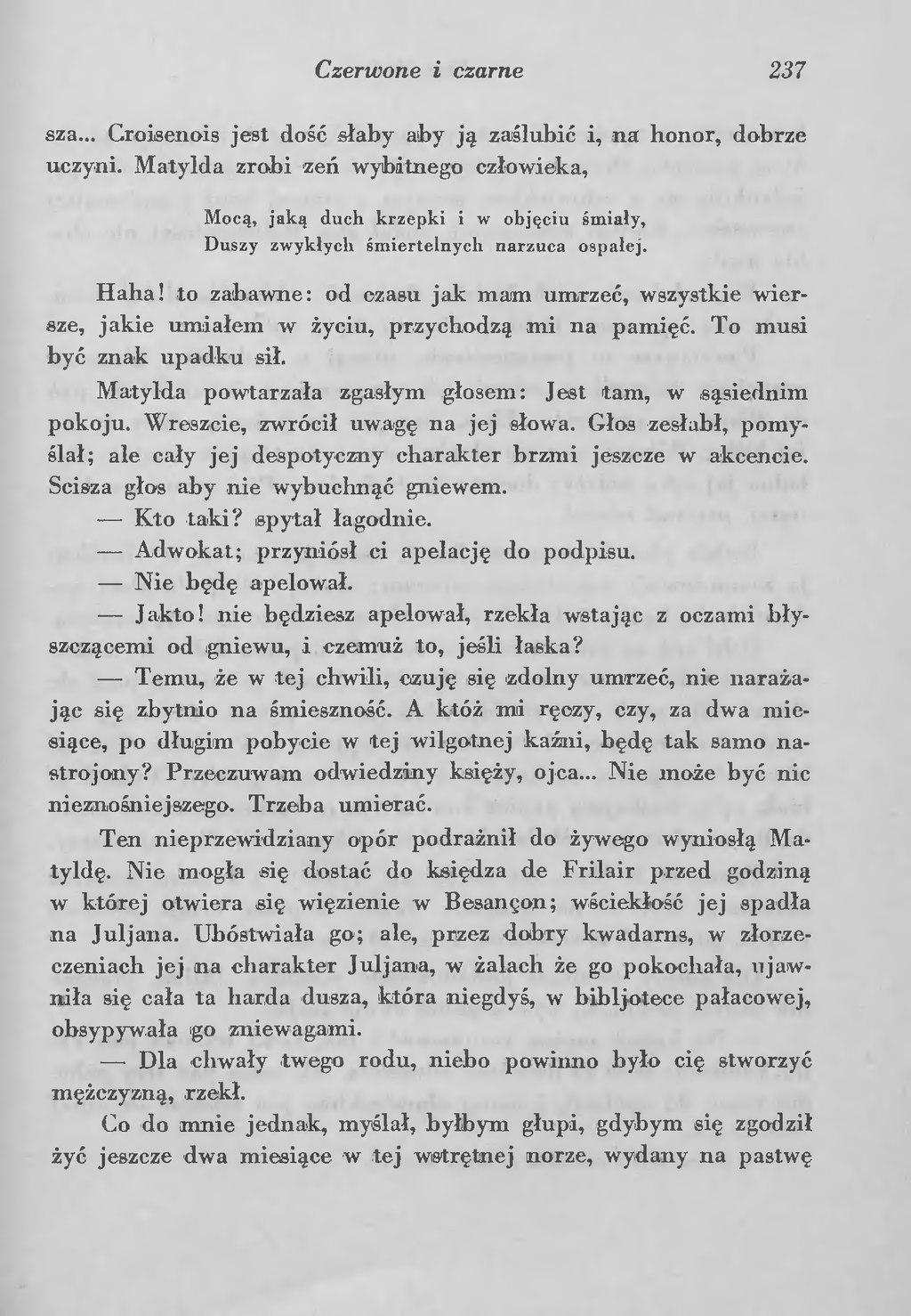 Stronapl Stendhal Czerwone I Czarne Tom Iidjvu241