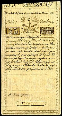 POL-A3a-Bilet Skarbowy-25 Zlotych (1794 First Issue).jpg