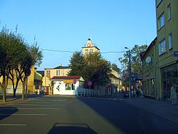 Main Square in Rypin
