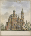 PROJECT FOR THE CHURCH OF THE DORMITION ON THE POKROVKA, MOSCOW.PNG