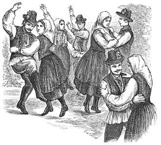 Hungarian dance - Csárdás