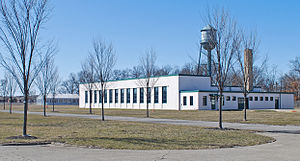 Packard Proving Grounds - Image: Packard Proving Grounds Gateway Complex C