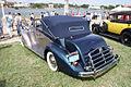Packard One Twenty Drophead Convertible 1937 LSideRear LakeMirrorClassic 17Oct09 (14577554276).jpg