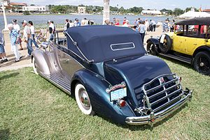 Darrin of Paris - Drophead cabriolet on a 1937 Packard 120 chassis His first Hollywood designs were in the European style