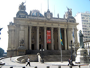 President of the Chamber of Deputies (Brazil) - The Tiradentes Palace, in Rio de Janeiro, was the building of the Brazilian Parliament from 1926 until 1960