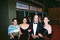 Palestinian actress Reem Abu Sbaih, Composer Kamran Rastegar, and Writer-Director Annemarie Jacir at Cannes International Film Festival 2003 for World Premiere of like twenty impossibles.jpg