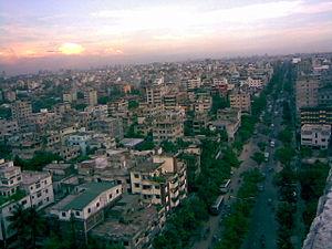 Pallabi Thana - Skyline of Pallabi, Bangladesh
