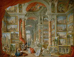 Giovanni Paolo Panini: Modern Rome
