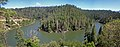 Panorama of Blue Ridge Reservoir snaking around (3910816042).jpg