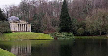 Stourhead In Wiltshire England Designed By Henry Hoare 1705 1785 The First Landscape Gardener Who Showed A Single Work Genius Of Highest