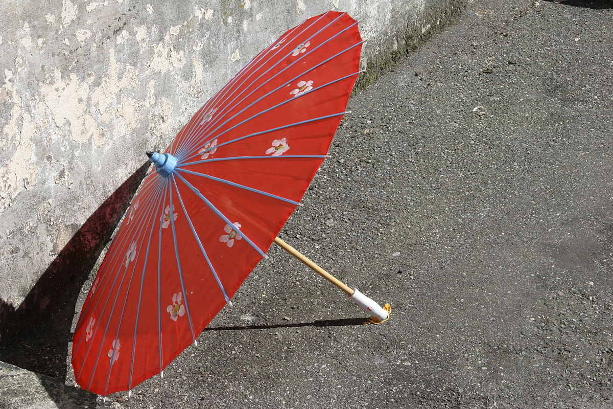 Oil-paper umbrella - Wikipedia