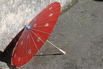 Oil-paper umbrella - Image: Parasolo